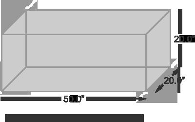 VMC Machining Envelope